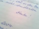 Brief eines Irren (Danke)