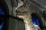 Der Dinosaurier-Roboter schockt im NHM