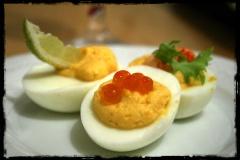 Silvester Gefüllte Eier