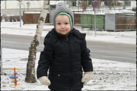 Thomas im Schnee