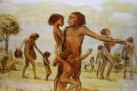 Ein Holobild (Mann mit Kindern)