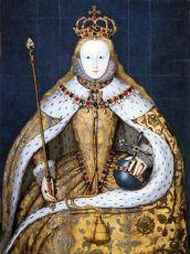 Hatte es nicht leicht: Elisabeth I. Nicht im Bild: Das dritte Auge Eleanor. - Bildinformation