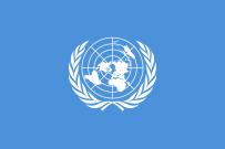 Flagge der Vereinten Nationen (UN) heute - Bildnachweis