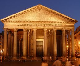 Rom,_Pantheon_bei_Nacht
